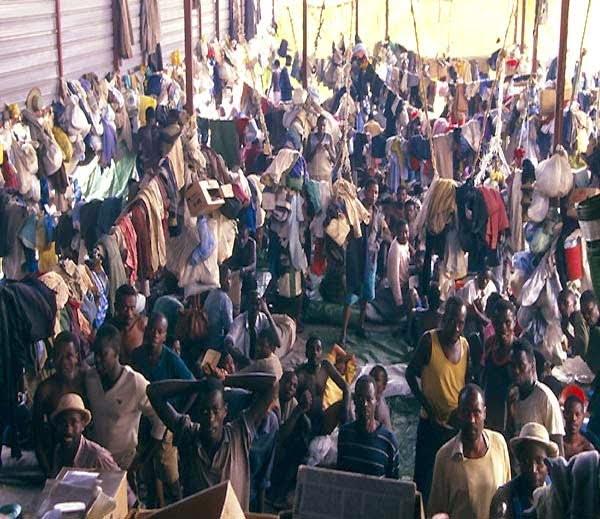 Gitarama Central jail Rwanda Africa