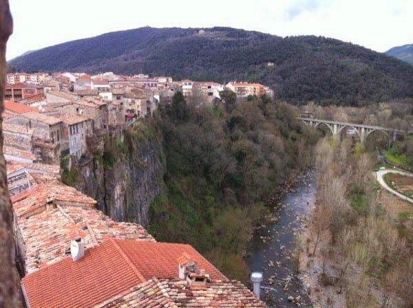 Amazing Village Based On Rock