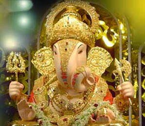 Why don't see back of lord Ganesha