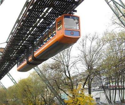 Hanging Train of Germany History in Hindi