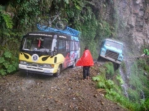 Death Road of Bolivia Information in Hindi