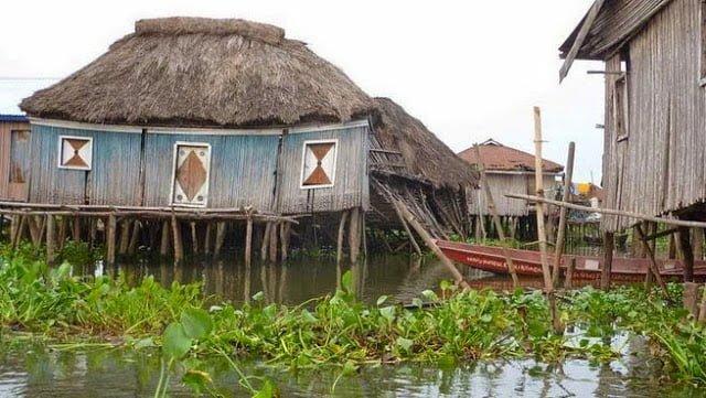 Amazing Ganvie Lake Village