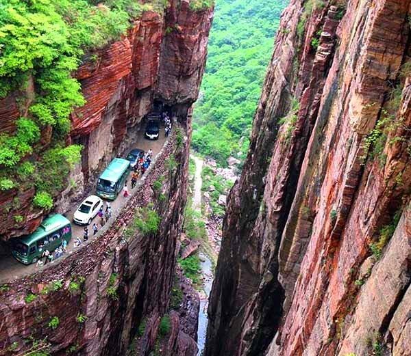 Guoliang Tunnel of China Story in Hindi
