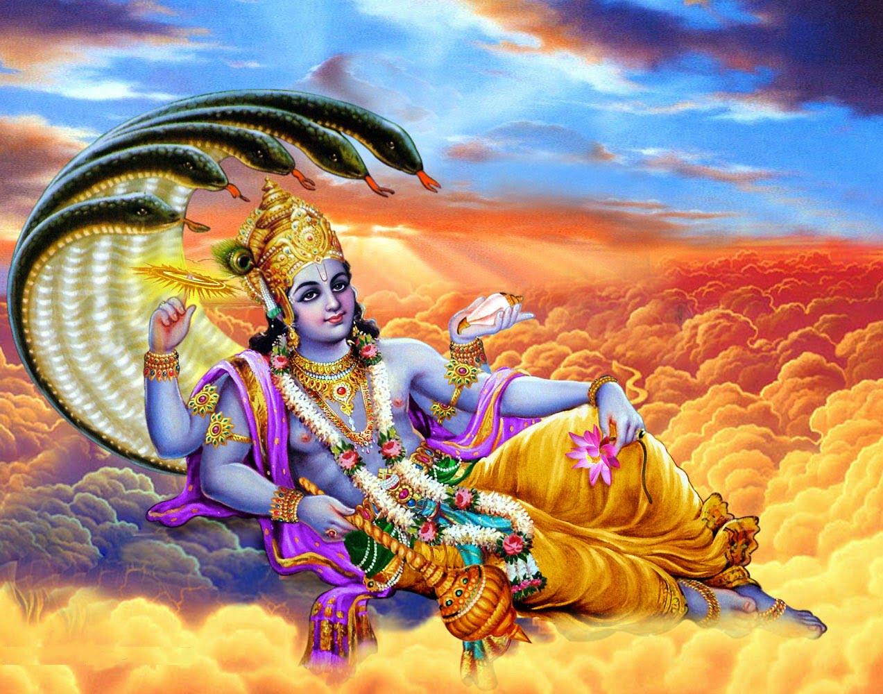 Lord Vishnu and Mata Parvati Hindi Story
