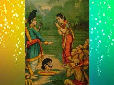 Ramayan Hindi Story- Why Meghnad chopped head laugh