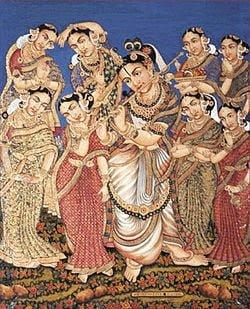 sri krishna wives & sons name in Hindi