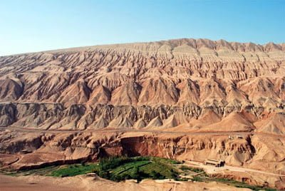 Flaming mountains, Xinjiang, China Story in Hindi
