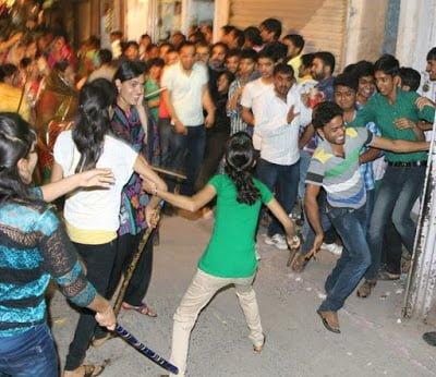Dhinga gavar festival Rajasthan in Hindi