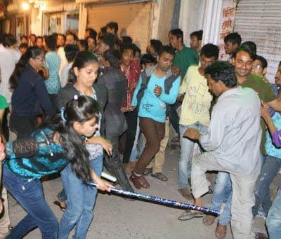 Dhinga gavar festival history in Hindi