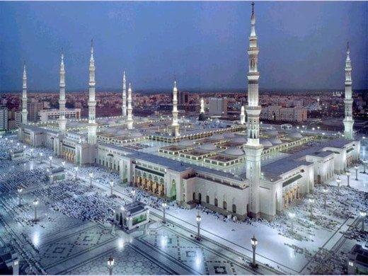 Masjid nabawi Saudi arabia history in Hindi
