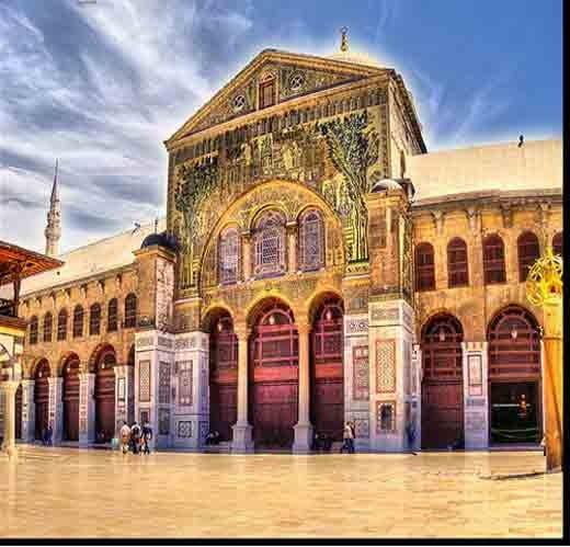 Umayyad mosque Damascus ka itihas