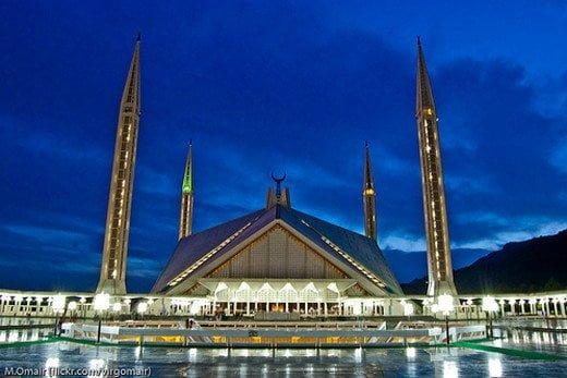 Faisal masjid, Pakistan
