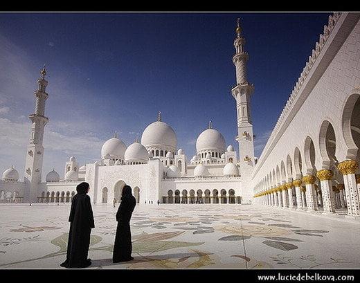 Sheikh zayed bin sultan mosque, Abu dhabi