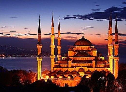 Blue masjid, Turkey