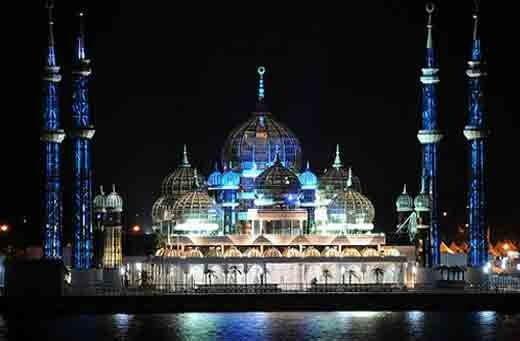 Crystal masjid, Malaysia