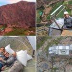 स्काईलॉज होटल,पेरू- 400 फ़ीट ऊंची चट्टान पर यह है विशव का सबसे खतरनाक होटल