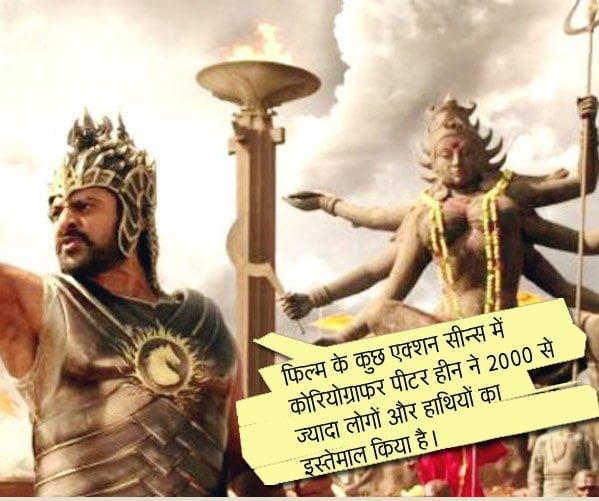 Amazing Facts of Baahubali movie in Hindi