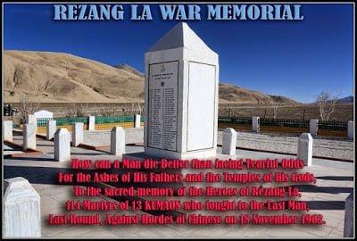 REZANG LA WAR, MEMORIAL, Hindi, HISTORY, Story, Kahani, Itihas, Jankari,