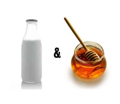 Health benefits of honey with milk in Hindi