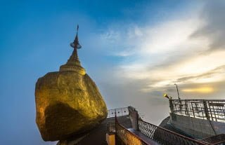 The Golden Rock Kyaiktiyo Pagoda Burma