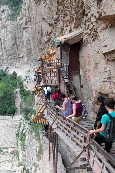 Hanging Monastery of China Story in Hindi