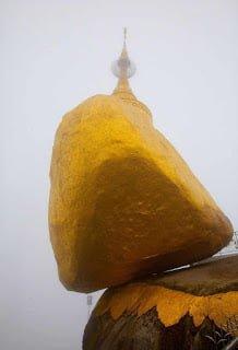 The Golden Rock Kyaiktiyo Pagoda Burma Story in Hindi
