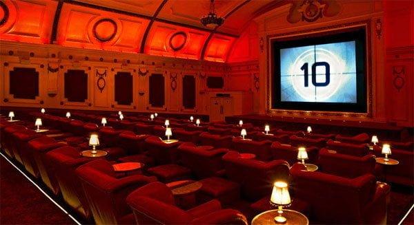 Electric cinema, Notting Hill London