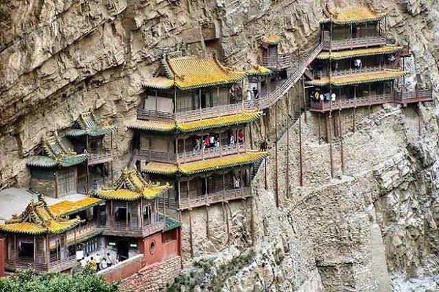Hanging Monastery of China Information in Hindi