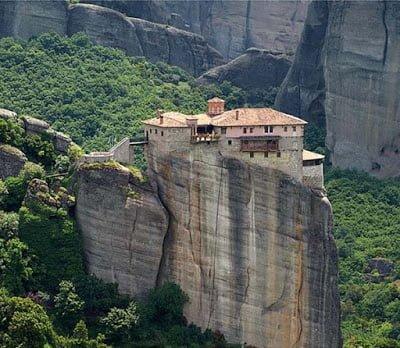 Roussanou monastery, Greece , Hindi Information