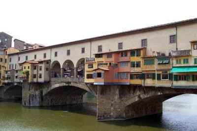 Ponte vecchio, Italy, History in Hindi