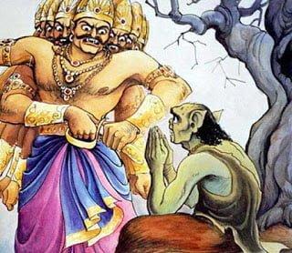 Ravan and Marich Story in Hindi