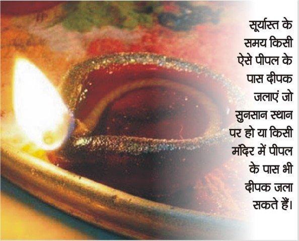 Astrological measures for Shani dev in Hindi