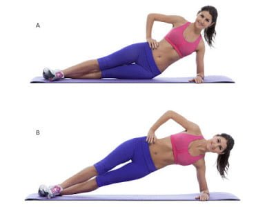 साइड प्लैंक (Side Plank) - Best exercise to lose belly fat