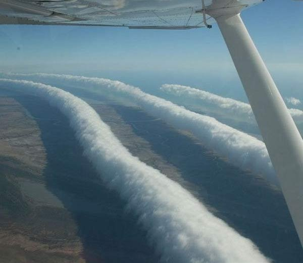 Morning glory clouds - Hindi Information