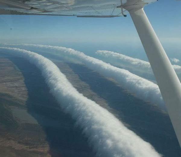Morning glory clouds - Hindi Information
