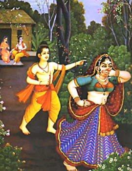 Laxman & Shurpankha Prasang In Ramcharit Manas