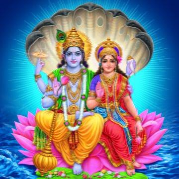 Lord Vishnu and Goddess Lakshmi Story
