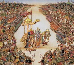 Why fought Mahabharat war in Kurukshetra ?