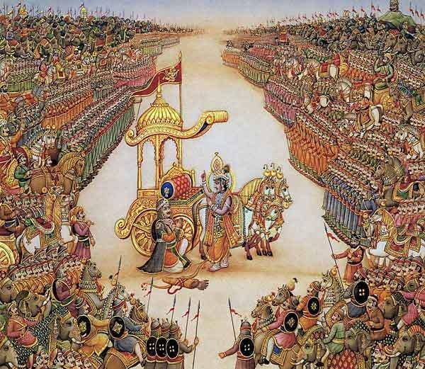 Why fought Mahabharat war in Kurukshetra ?