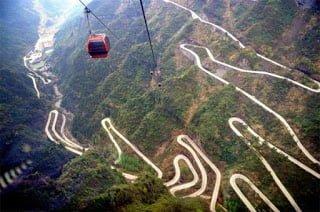 Tianmen Mountain Road, China, Hindi, Information, History, Top 10, Top Most, Dangerous, Khatarnak, Road, Sadak,