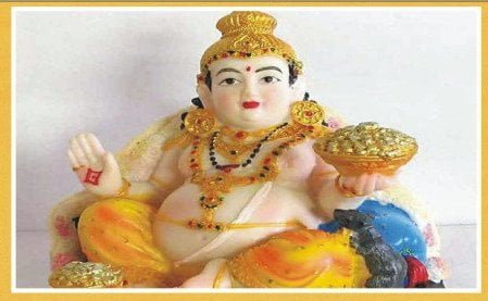 Worship Lord Kuber For Money