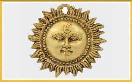 Worship  Surya for health