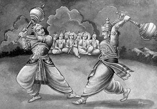 Cheating & Deception by Shri Krishna in Mahabharat Yuddha: Hindi Mythological Story, Kahani,