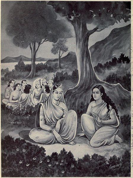 Draupadi-Satyabhama Samvad, Conversation, Mahabharat, HIndi, Story, Kahani, Baat-Cheet,