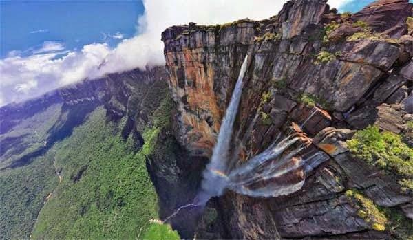 Angel Waterfall, Venezuela,  Hindi, Information, Jankari, History, Story, Itihas,