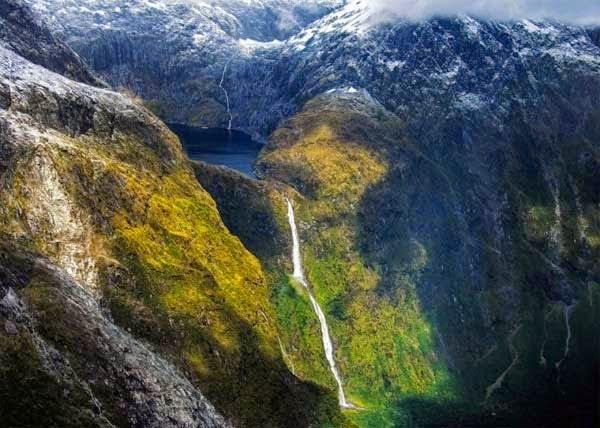 Sutherland waterfall, New zealand,  Hindi, Information, Jankari, History, Story, Itihas,