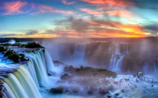 Iguazu Falls in Argentina/Brazil,  Hindi, Information, Jankari, History, Story, Itihas,