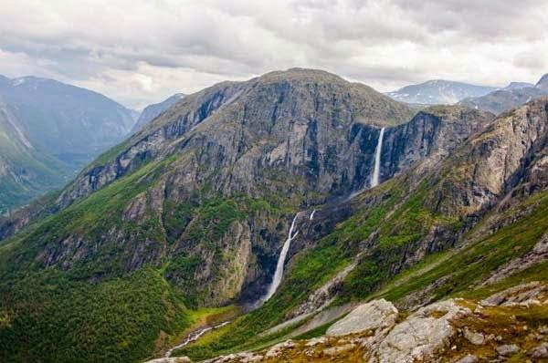 Mardalsfossen Waterfall, Norway,  Hindi, Information, Jankari, History, Story, Itihas,