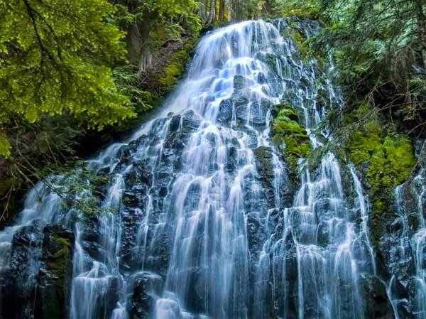Ramona waterfall, Oregon, USA,  Hindi, Information, Jankari, History, Story, Itihas,