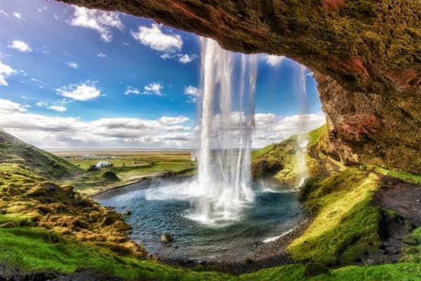 Seljalandsfoss Waterfall, Island,  Hindi, Information, Jankari, History, Story, Itihas,